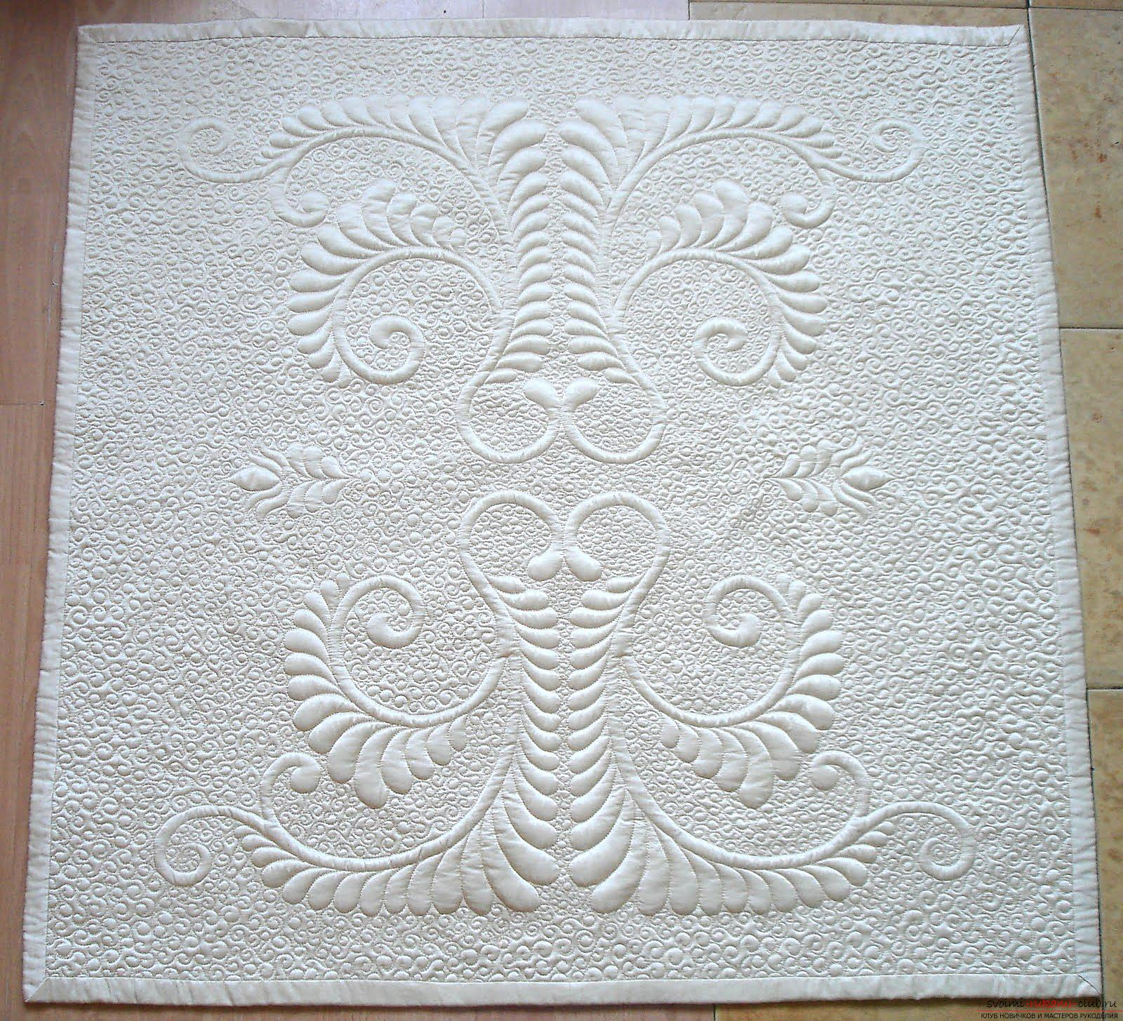 How to sew a beautiful envelope for a newborn baby. Photo Number 9