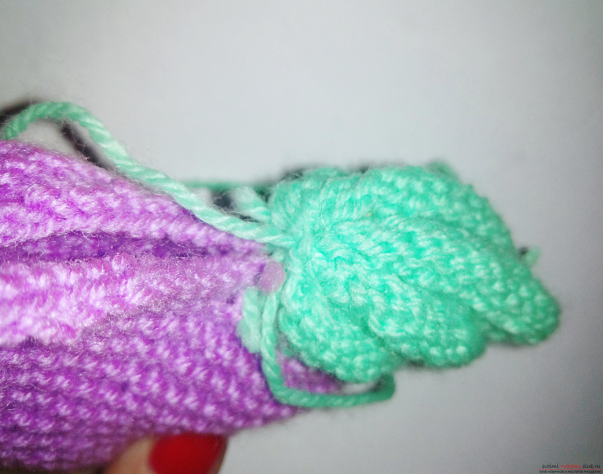 This master class with step-by-step photos and descriptions will teach you how to knit booties for newborns with knitting needles. Photo number 12