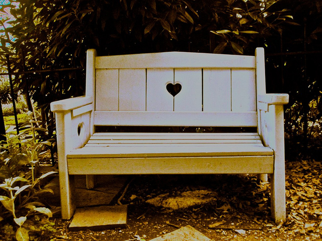 The bench of lovers