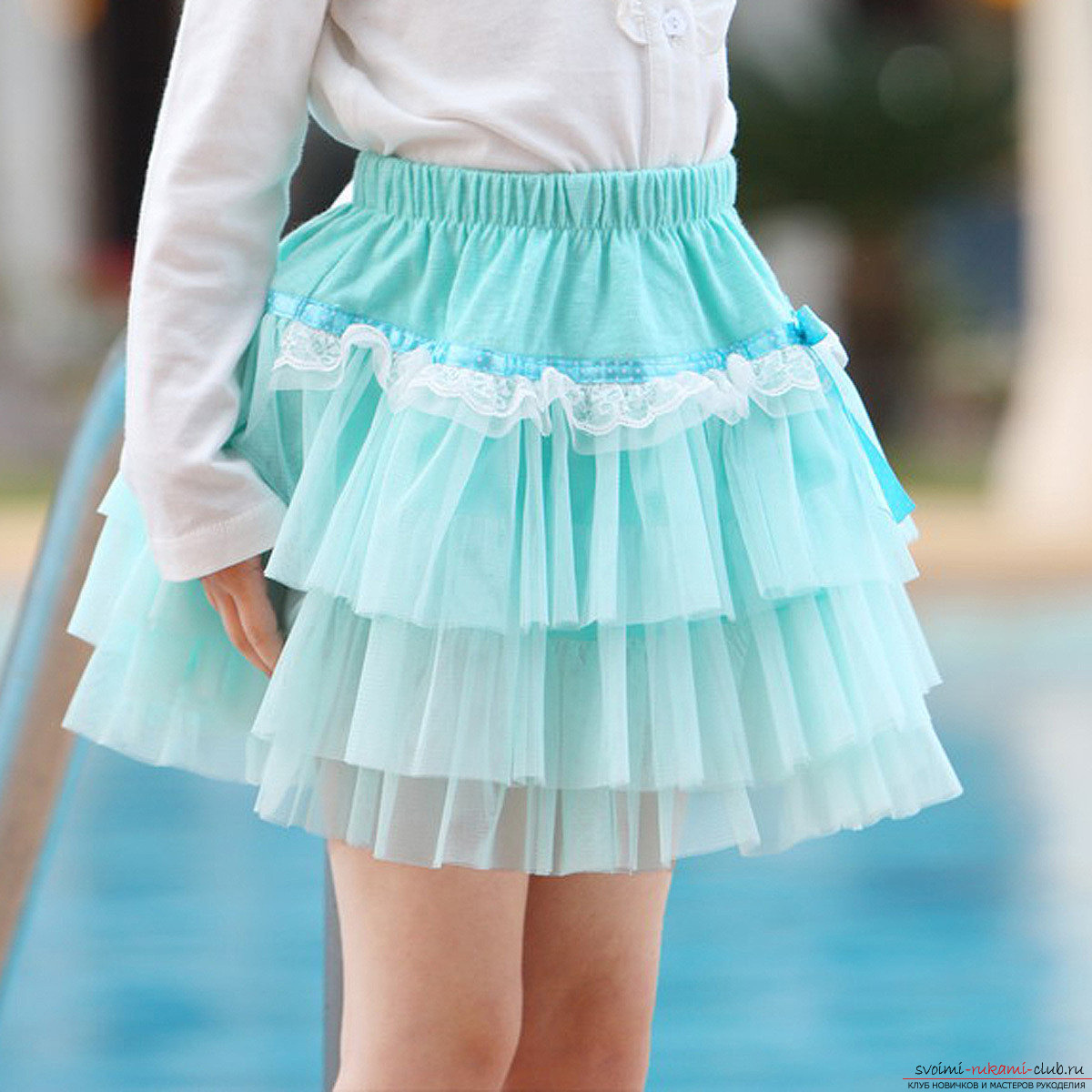 How to create a skirt-tutu or a magnificent dress with your own hands ?. Photo №4