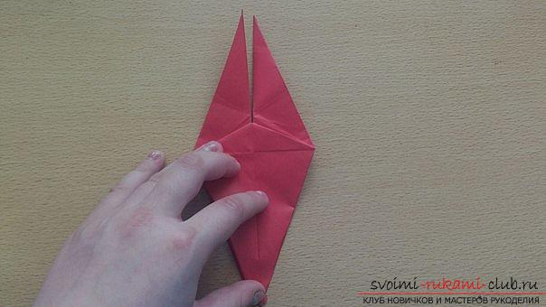 This detailed master class contains an origami-dragon scheme made of paper, which you can make by yourself. Photo # 22