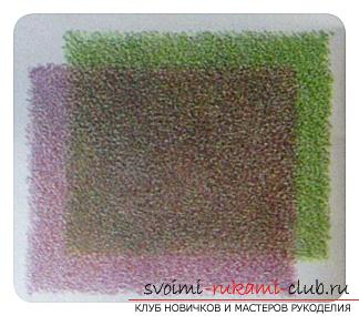 Tinting the picture with colored pencils. Photo №8