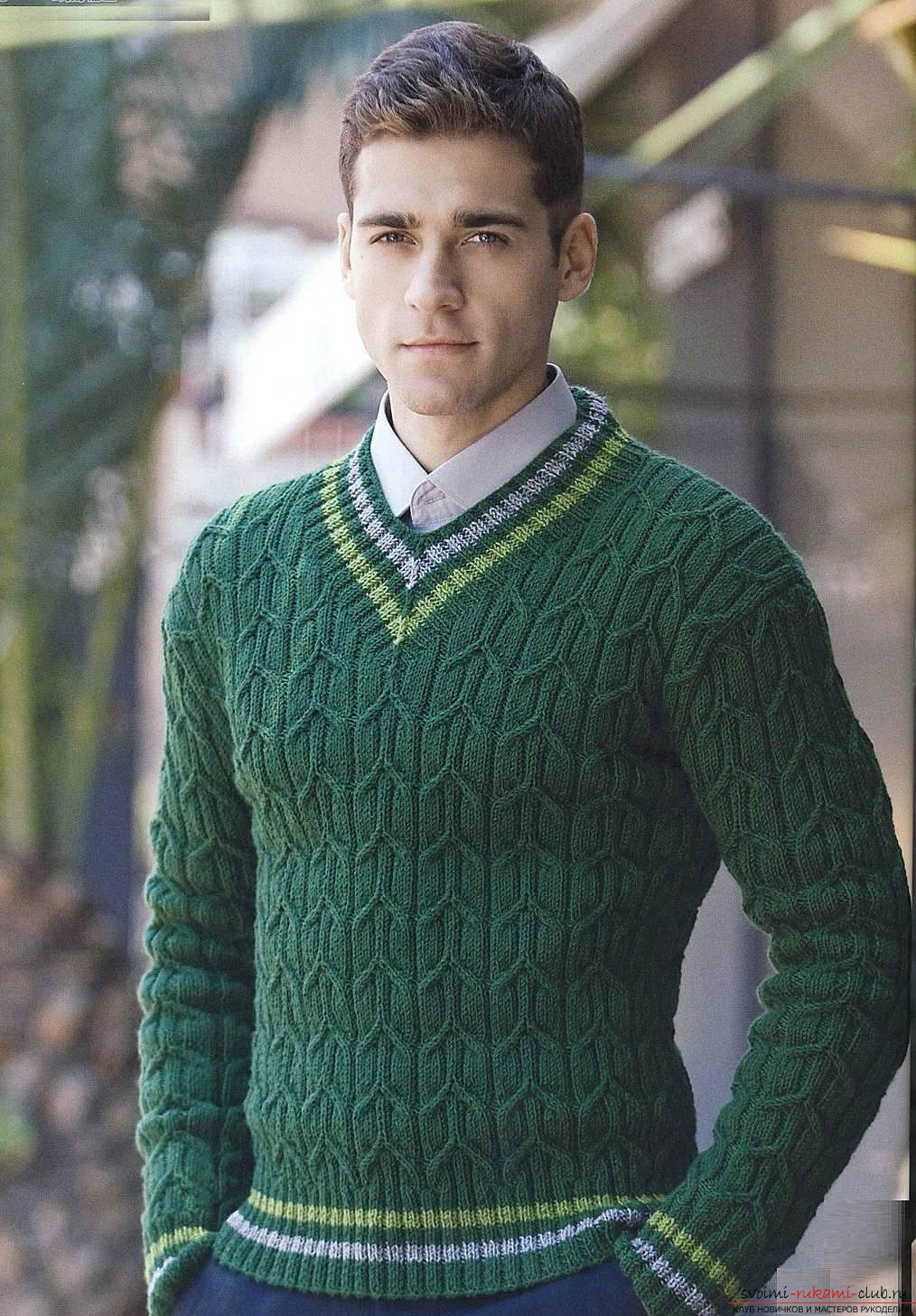 knitted knitted sweater. Photo # 2