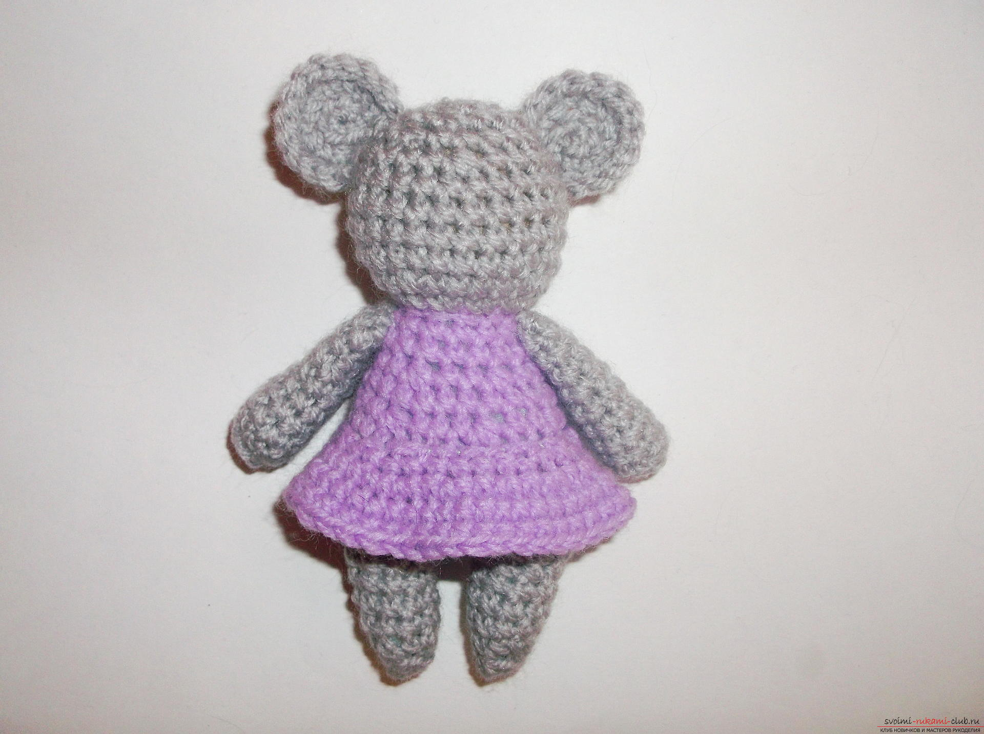 Picture to the lesson on crocheting a small toy. Picture №10