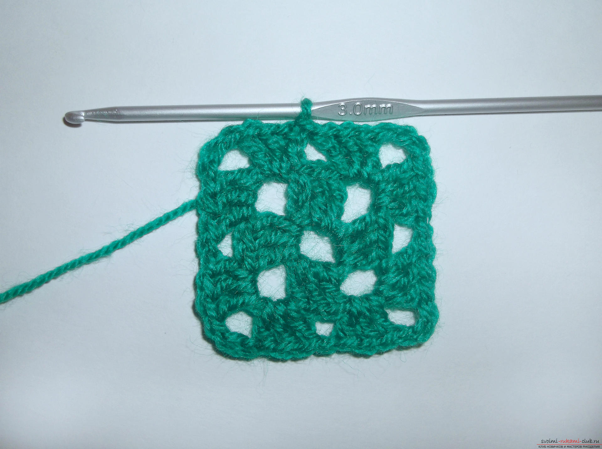 Photo to a lesson on crocheting crochet. Photo №5