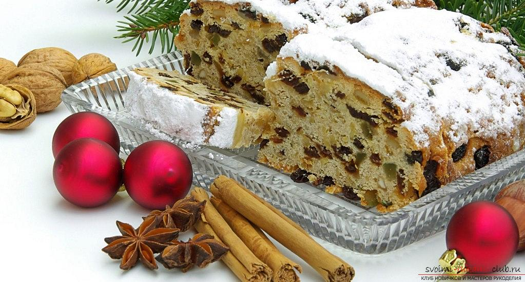 The recipe of the German Stollen with his own hands is a New Year's master class. Photo # 2