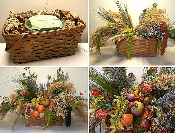 Crafts on the subject very much, crafts for children with their own hands, crafts made from natural materials with their own hands, crafts made of acorns, autumn bouquet .. Photo №16