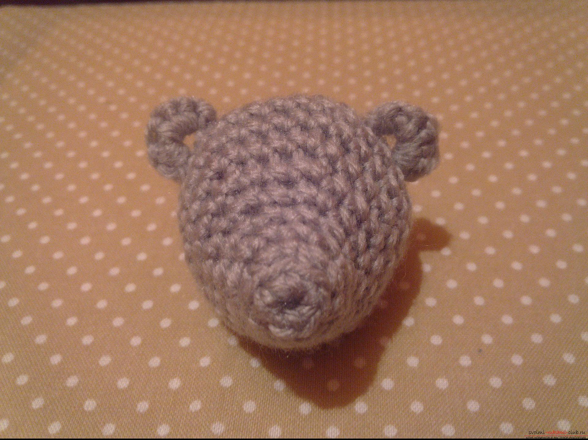 Photo to a lesson on crocheting a funny hedgehog. Photo №1