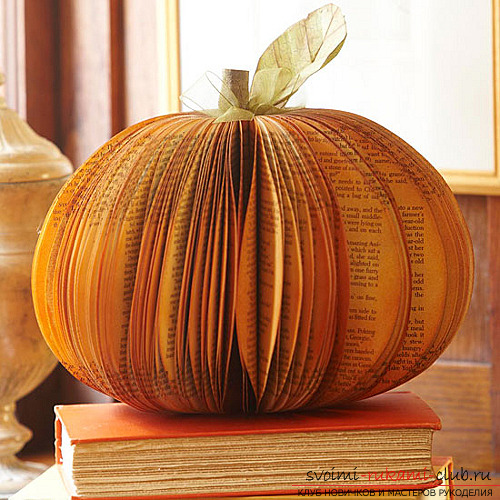 We make autumn articles from paper .. Photo # 20