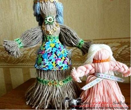 Красиви кукли от нишки със собствените си ръце. Снимка №1