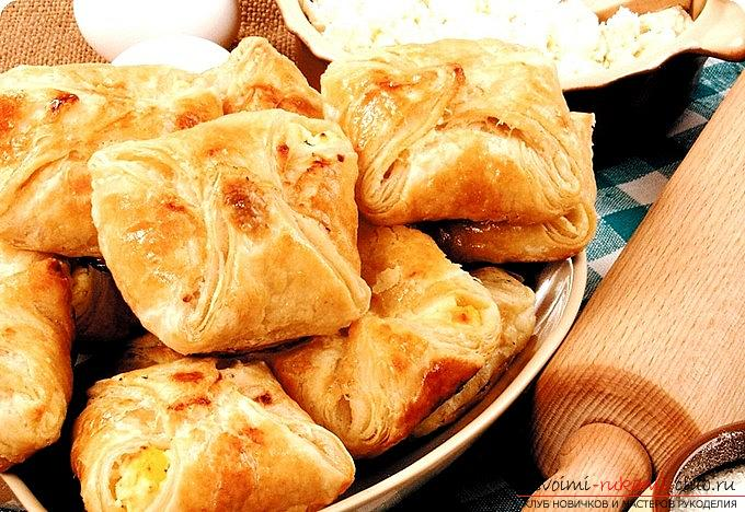 We prepare the recipe for puffs and rolls with our own hands for unexpected guests. Photo # 2