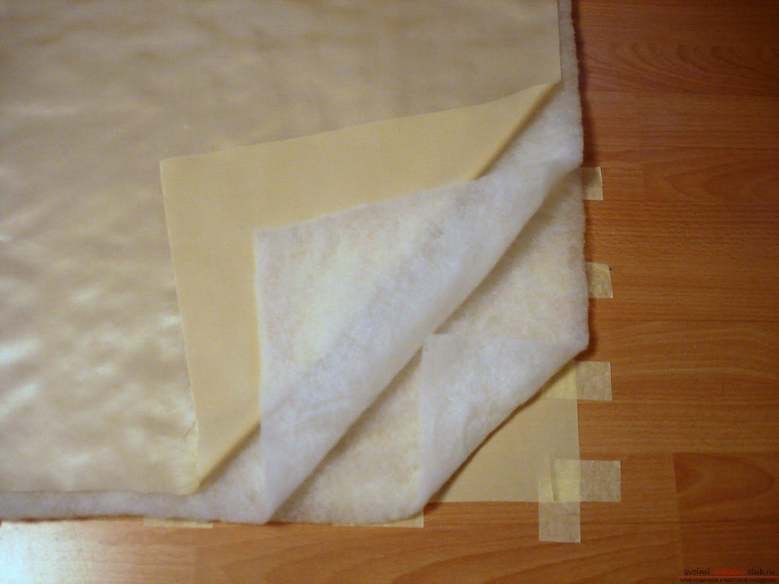 How to sew a beautiful envelope for a newborn baby. Picture №3