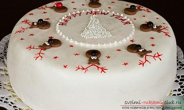 How to make Christmas biscuit cake? A lesson and a master class for beginners. Photo №7