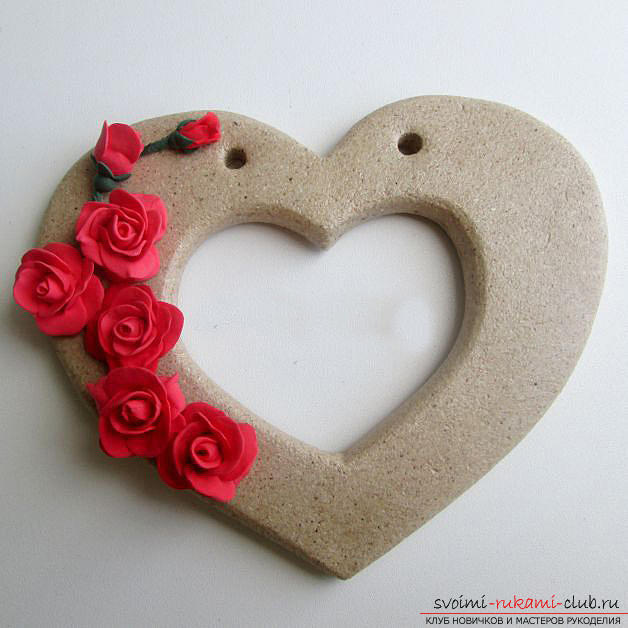 How to make a souvenir with roses in person to the Day of all lovers ?. Photo number 16