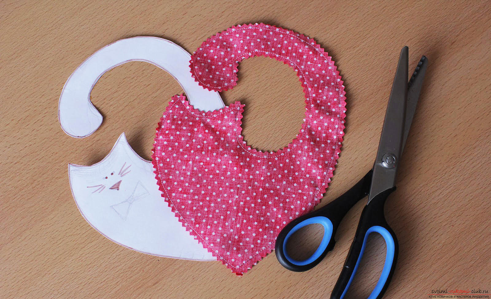 Building a pattern and making lovers cats .. Photo # 4