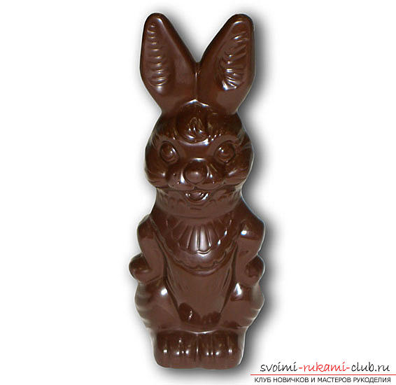 Tips and advice on making chocolate figurines with your own hands at home .. Photo # 6