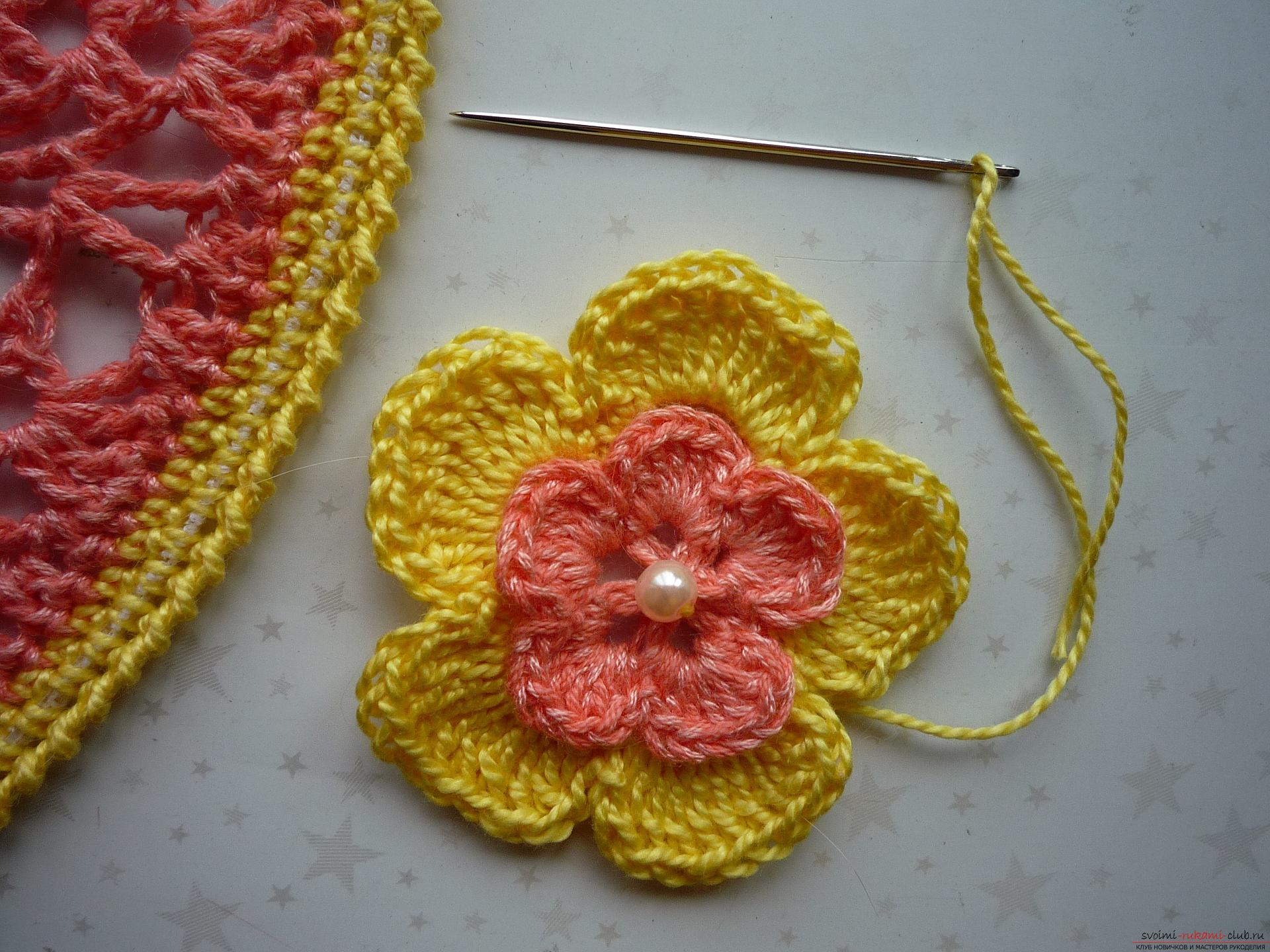 This detailed master class contains crochet lessons for beginners and will teach how to crochet a summer hat .. Photo # 30