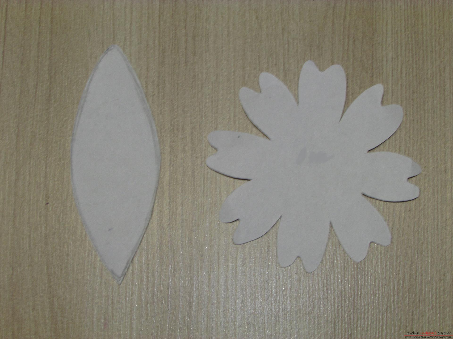 A master class with step-by-step photos will teach you how to make flowers from fameirana yourself. Picture №3