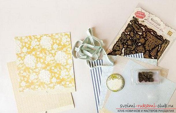 Scrapbooking books and covers for the wedding book with their own hands - a master class. Photo №4