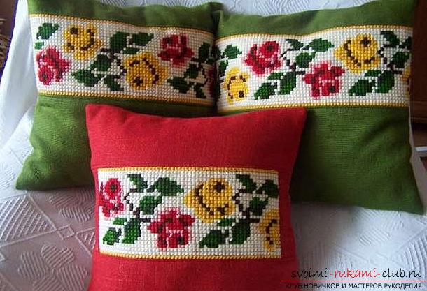 Popular patterns of cross stitch. Photo Number 9