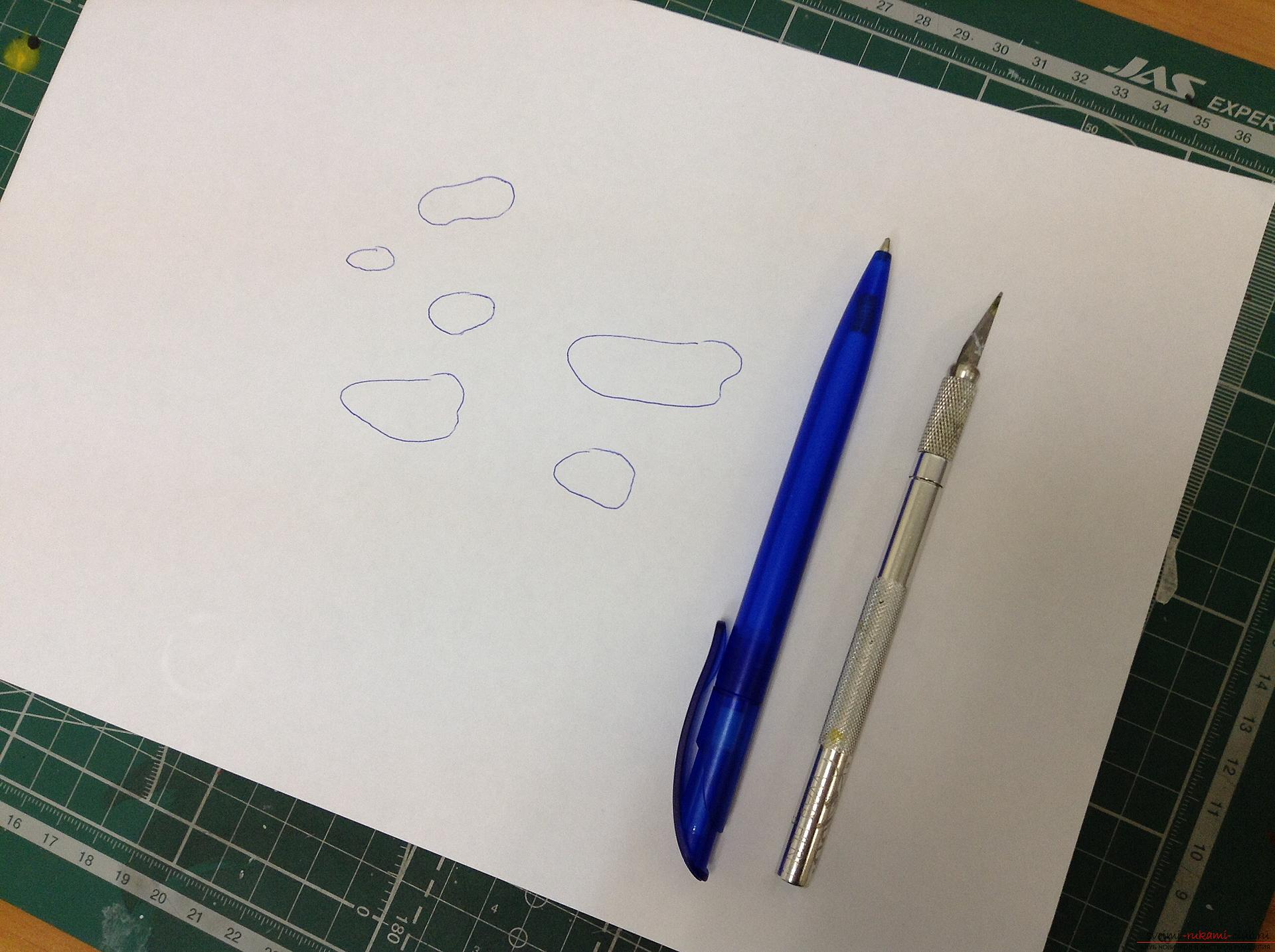 This master class will teach step-by-step drawing by airbrush drawing of a drop .. Photo №1