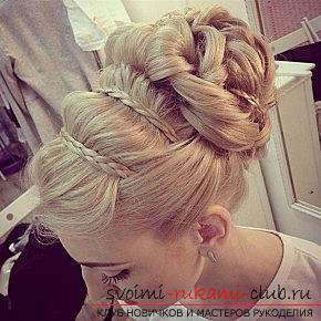 Interesting and trendy hairstyles for long hair for 2016 with their own hands. Photo №6