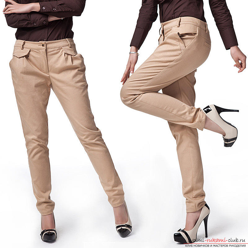 How to build a pattern-base of trousers. Photo №1