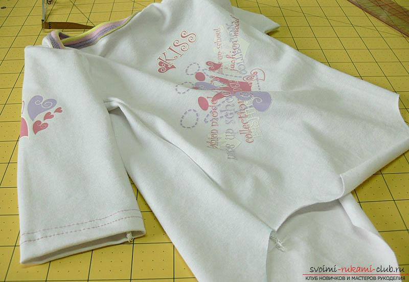 Pattern and sewing body for a newborn baby. Photo №13
