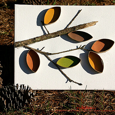 We make autumn crafts from paper .. Photo # 25