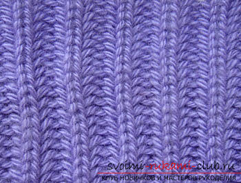 How to tie a rubber band with knitting needles is easy and fast. Picture №3