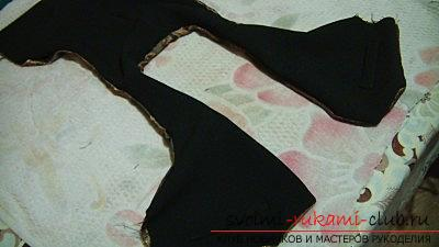 Sewing a vest for a boy. Picture №10