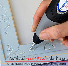 How to make an original photo frame by engraving. Picture №3