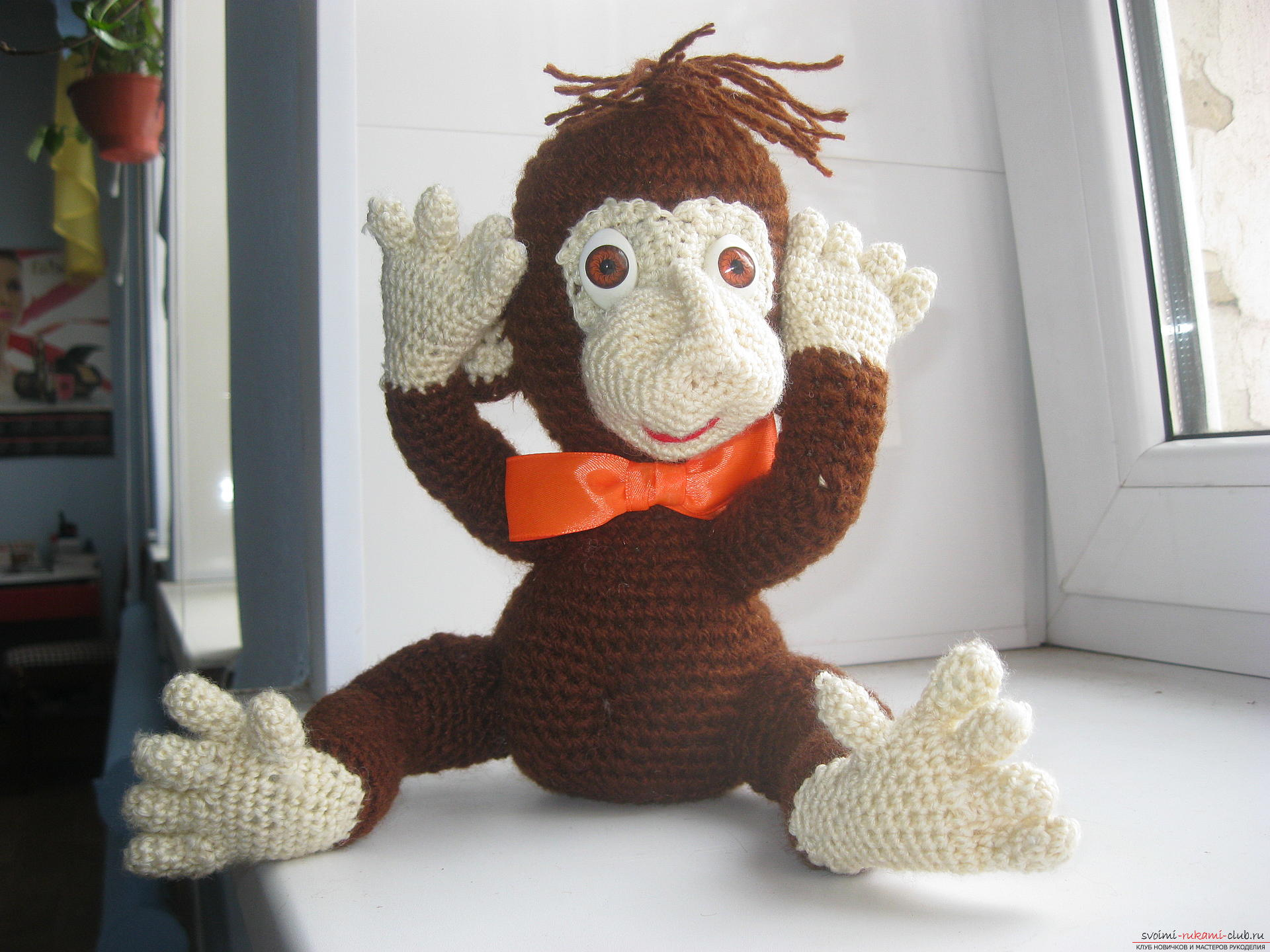 In this master class you will learn the idea of ​​crafting for the new year - a monkey with your own hands. Photo №4