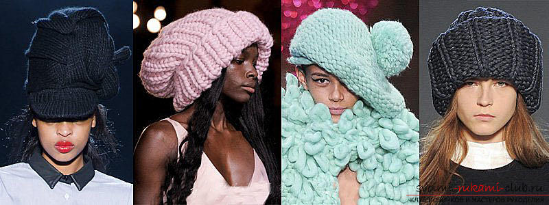 How to tie a cap, knitting hats with knitting needles, patterns and patterns for hats, patterns for knitted hats, detailed descriptions, diagrams, photo examples, recommendations .. Photo # 2