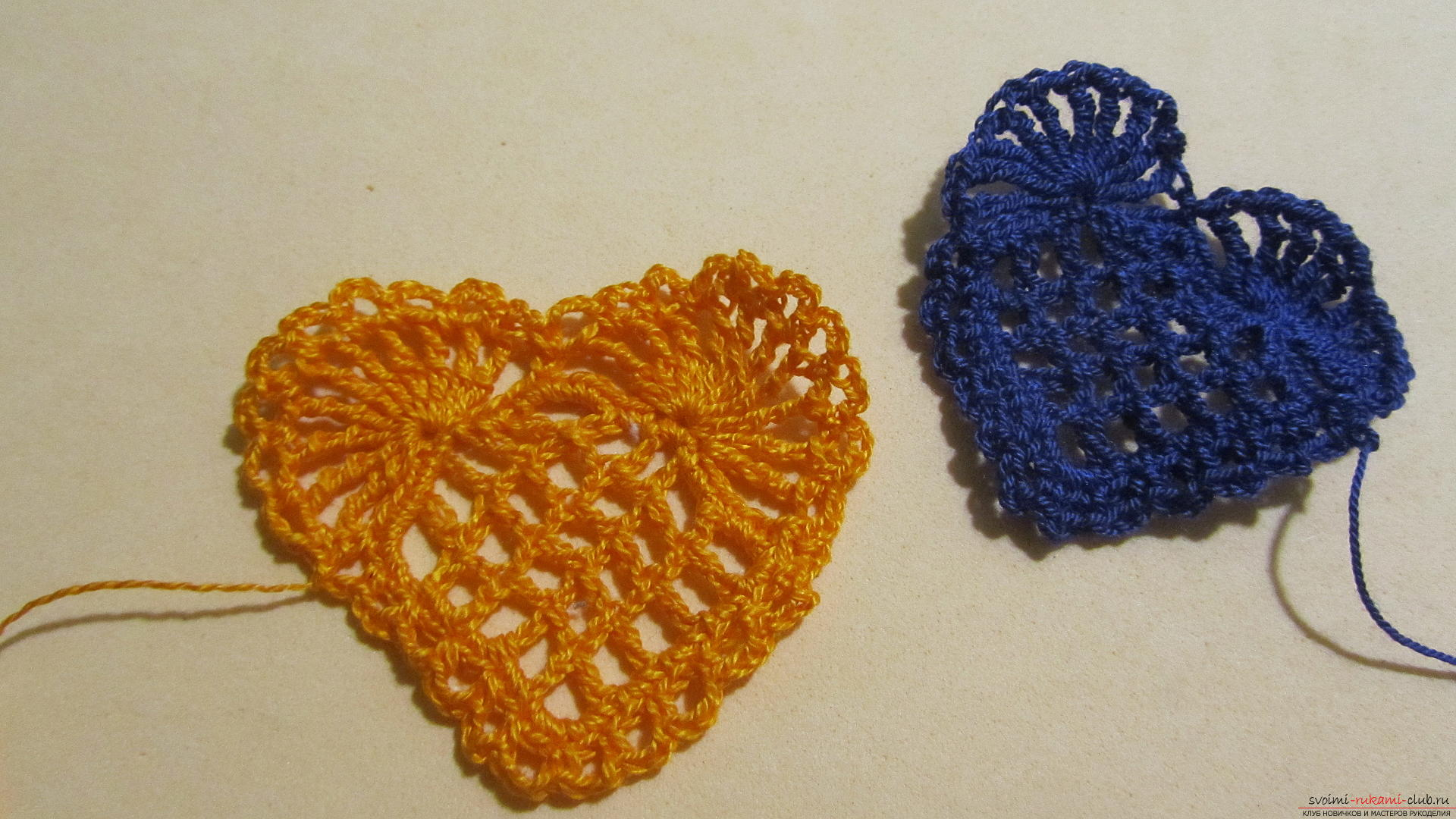 This detailed master class will teach you how to crochet beautiful valentines .. Photo # 20