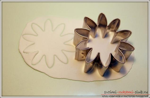 Master classes on the creation of bouquets of polymer clay with a description and photos .. Picture №9