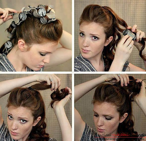 We learn to make fast and beautiful hairstyles with our own hands with a photo. Photo №8