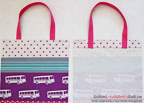Sewing a simple shopping bag. Photo №6