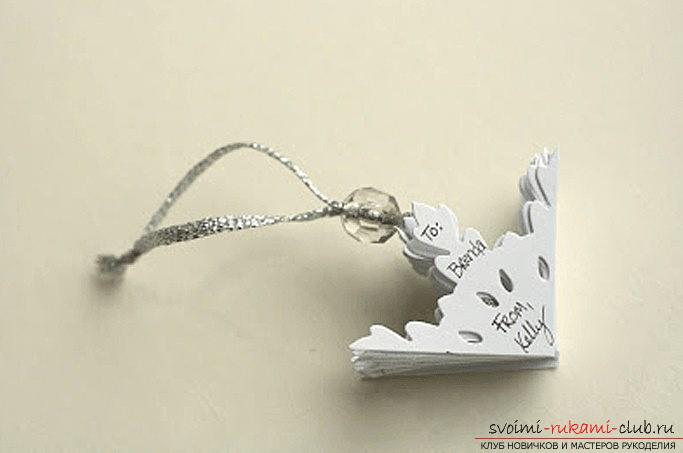 New Year snowflakes with their own hands - techniques and creative ideas for home. Photo №4