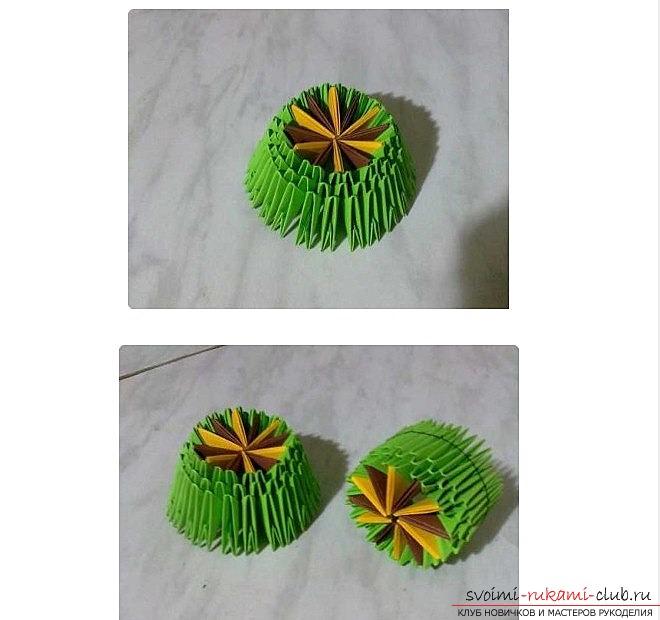 Матеріали для створення танчику-орігамі своїми руками. Різні уроки та ідеї для створення танчику-орігамі .. Фото №2