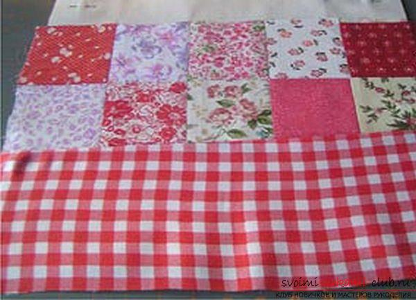 Sew a bag in the style of technology Japanese patchwork. Photo # 2