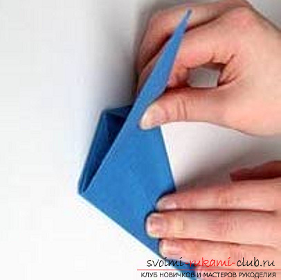 Blue dragon origami. Photo number 16