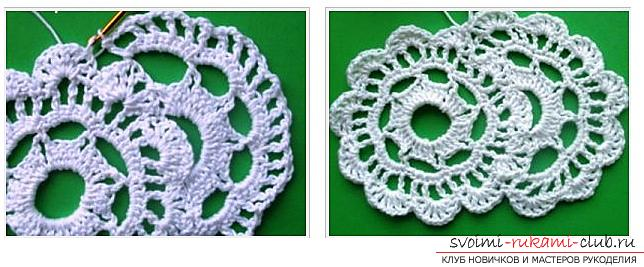 How to tie a ribbon crochet, master classes with diagrams, descriptions and photos .. Photo # 9