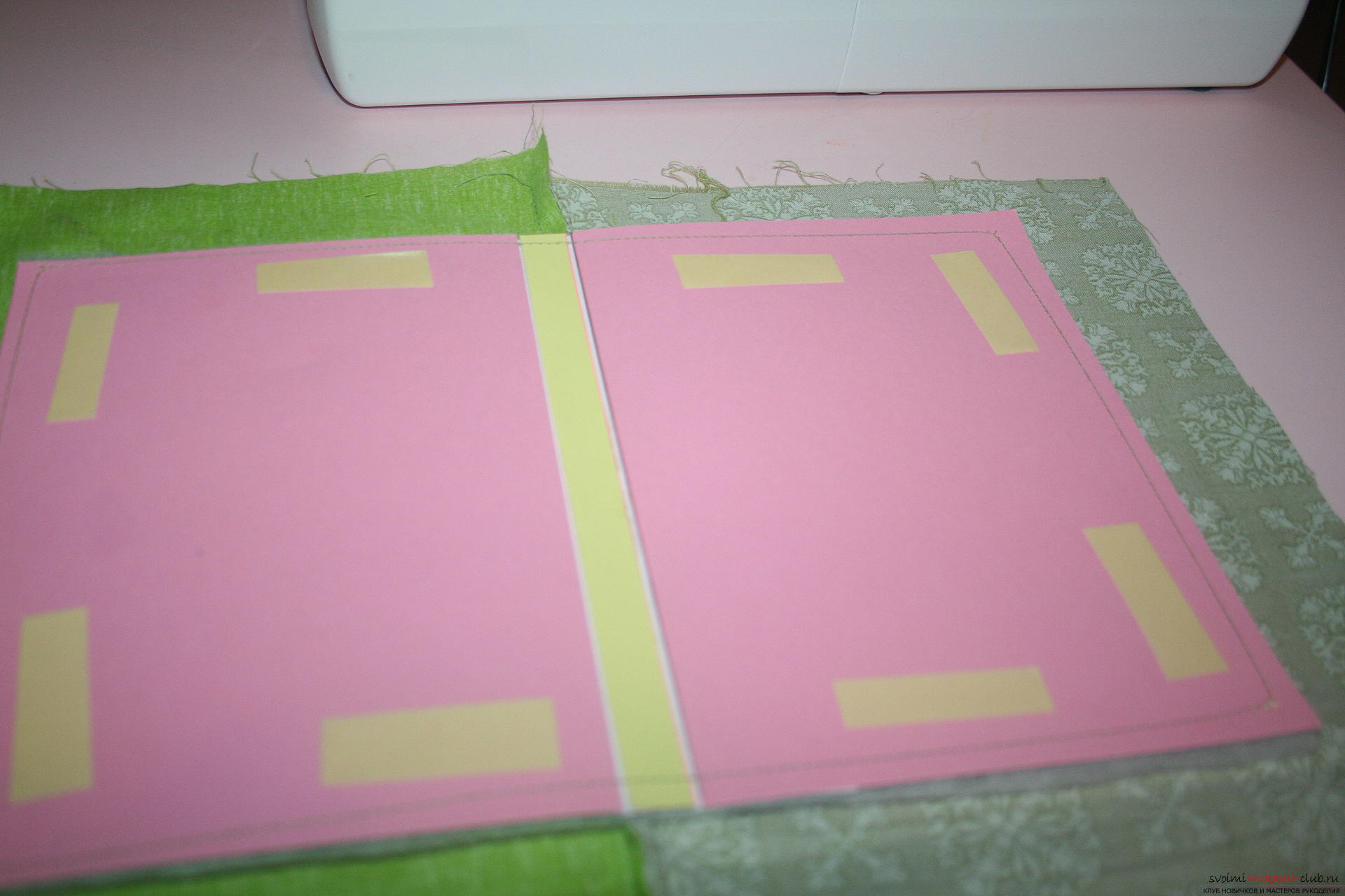 This master class will teach you how to make an original gift for the New Year - scrapbooking notebook. Photo Number 22