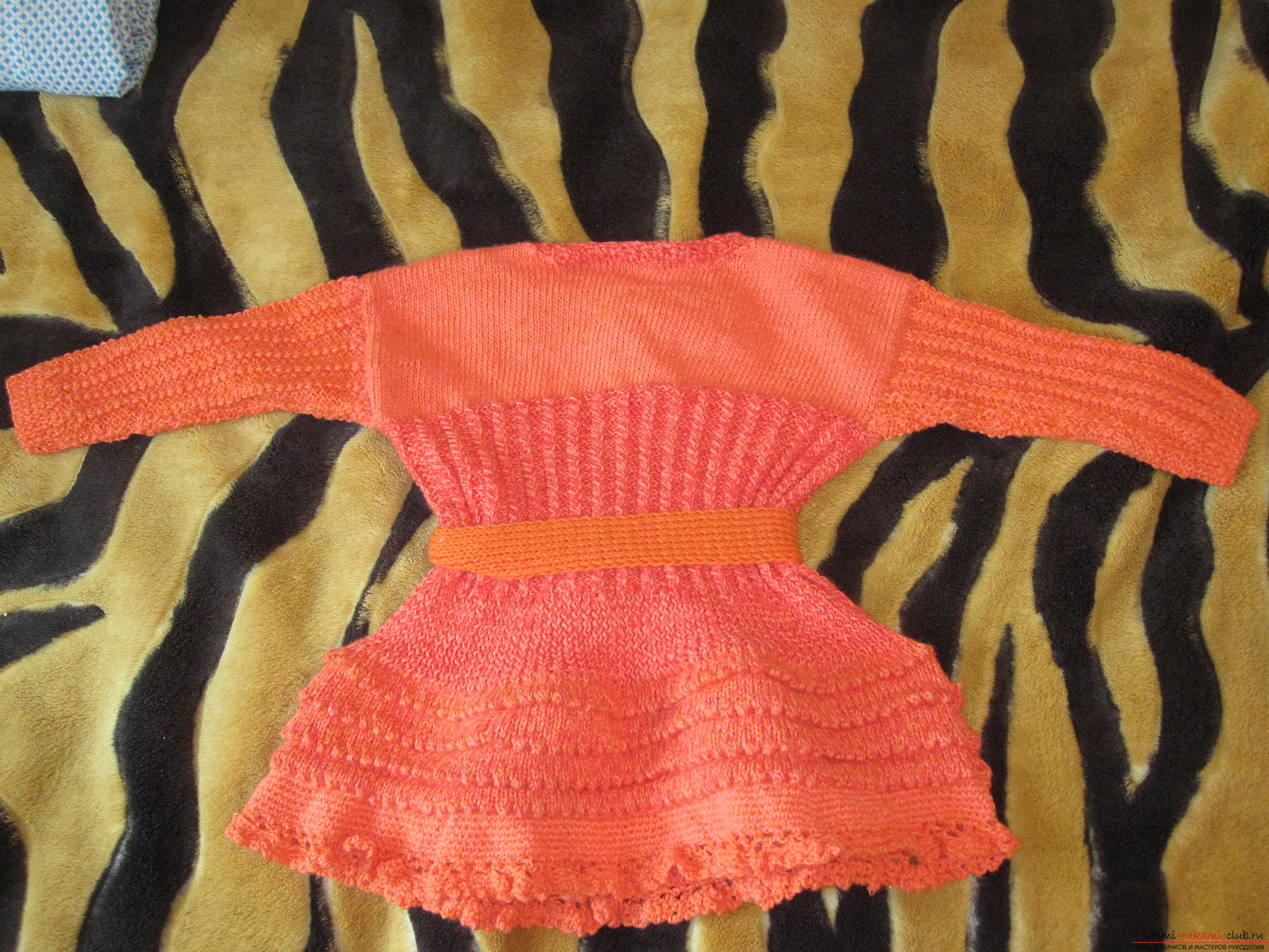 Knitted baby clothes. Photo №1