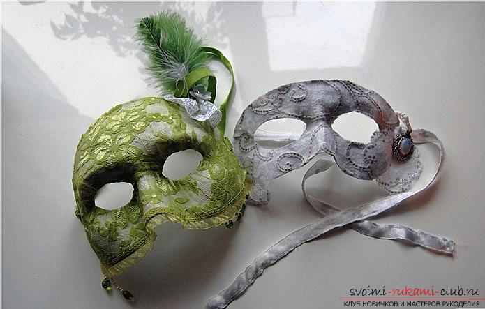How to make papier mache in different techniques interior decoration items: vases, plate and frame for photos, a mask in the Venetian style for parties, step-by-step photos and a detailed description of the work. Photo number 16