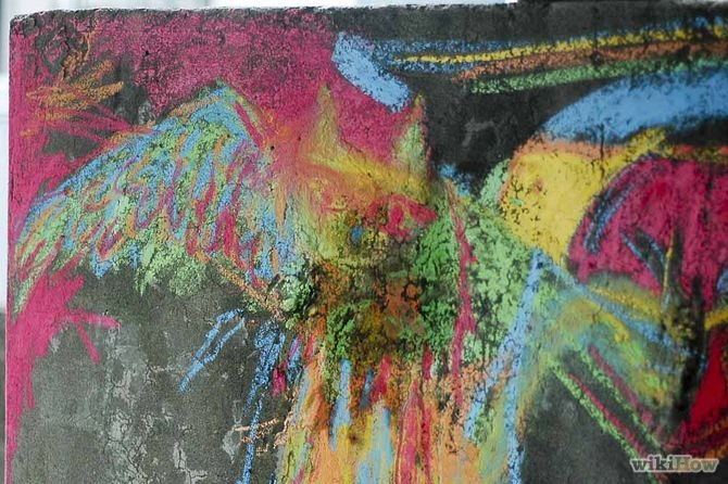 670px-Create-Wet-Chalk-Drawings-Step-7