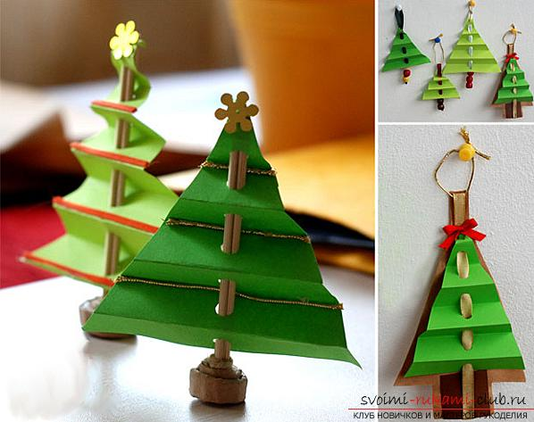 Master-class on making a tree of paper with your own hands. Photo №6