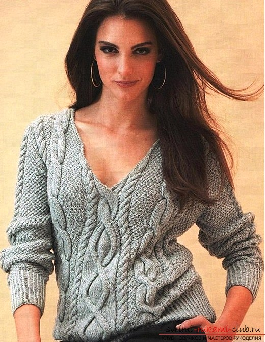 How to learn to knit a beautiful pattern