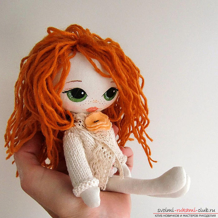 Easy patterning of dolls for beginners. Photo # 1